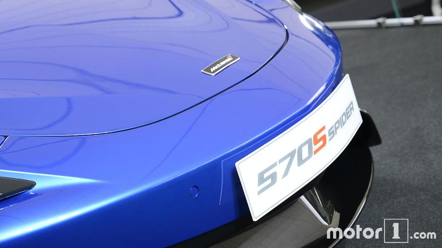 McLaren 570S Spider at Goodwood