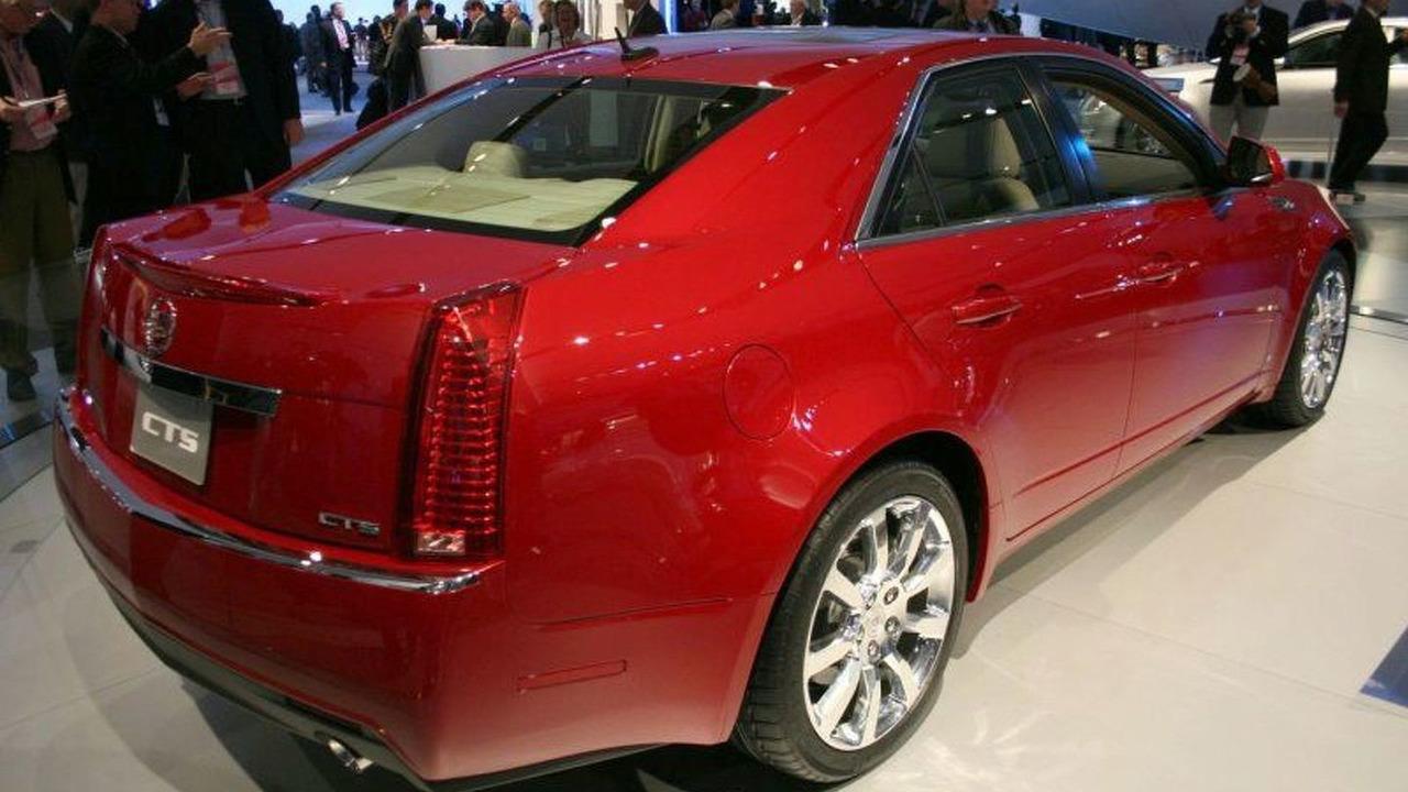 New Cadillac CTS at 2007 NAIAS
