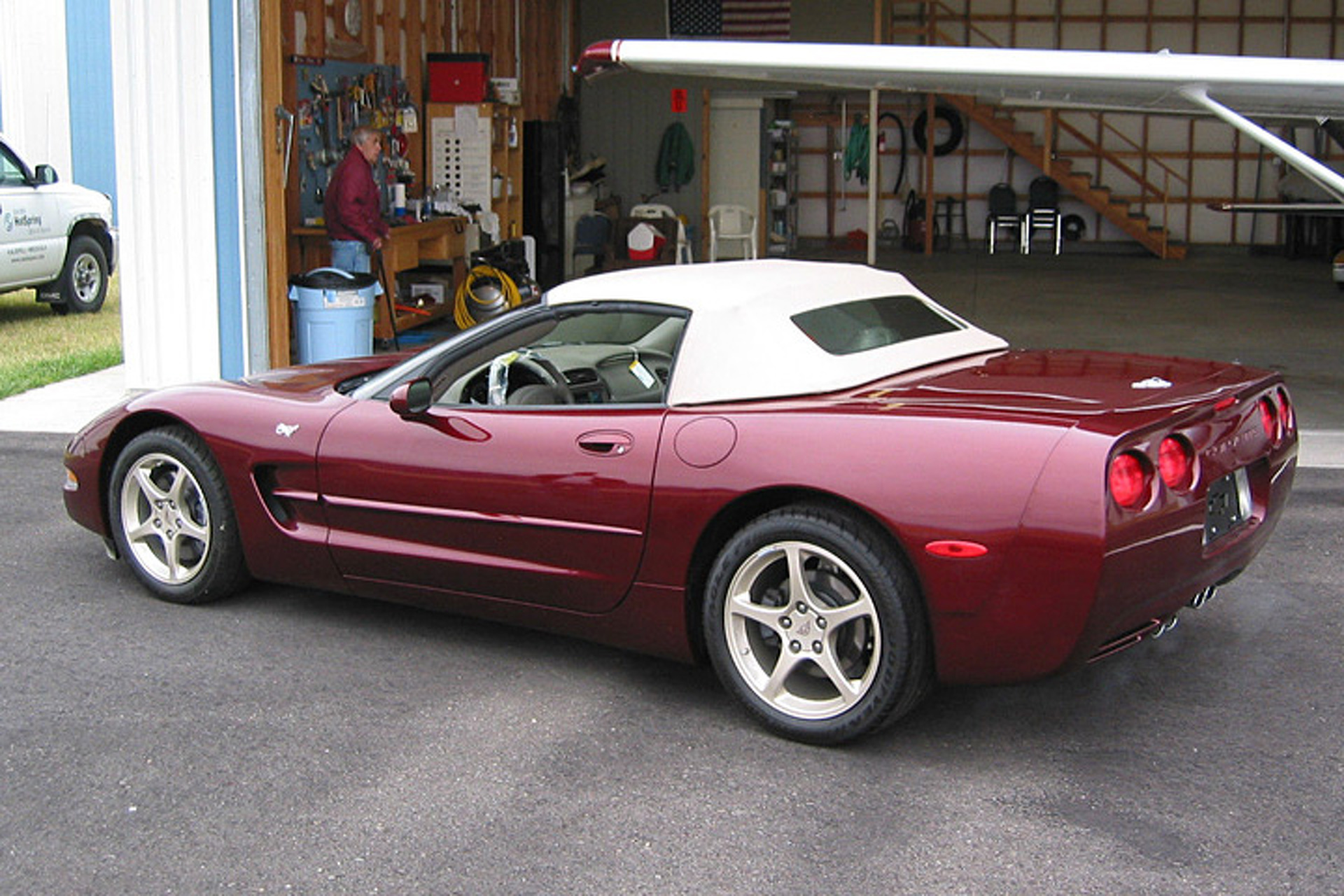 With Only 57 Miles, This is Essentially a Brand New 2003 Corvette
