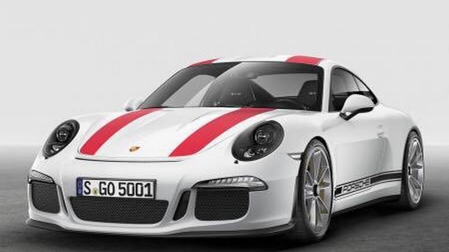 Say hello to the manual Porsche 911 R