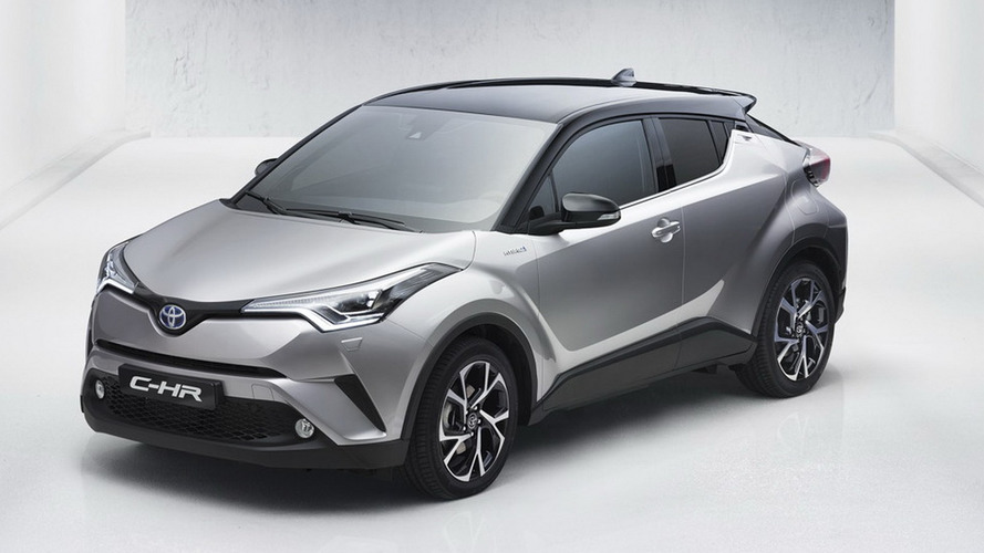 Toyota C-HR crossover leaked ahead of Geneva