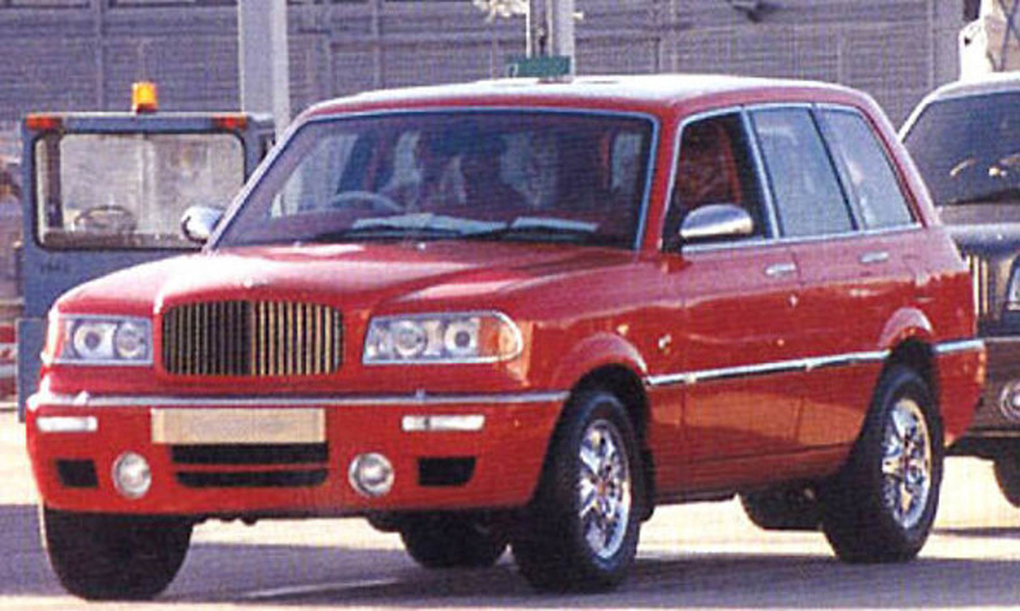 Bentley's First SUV: Built In 1994 For A Sultan