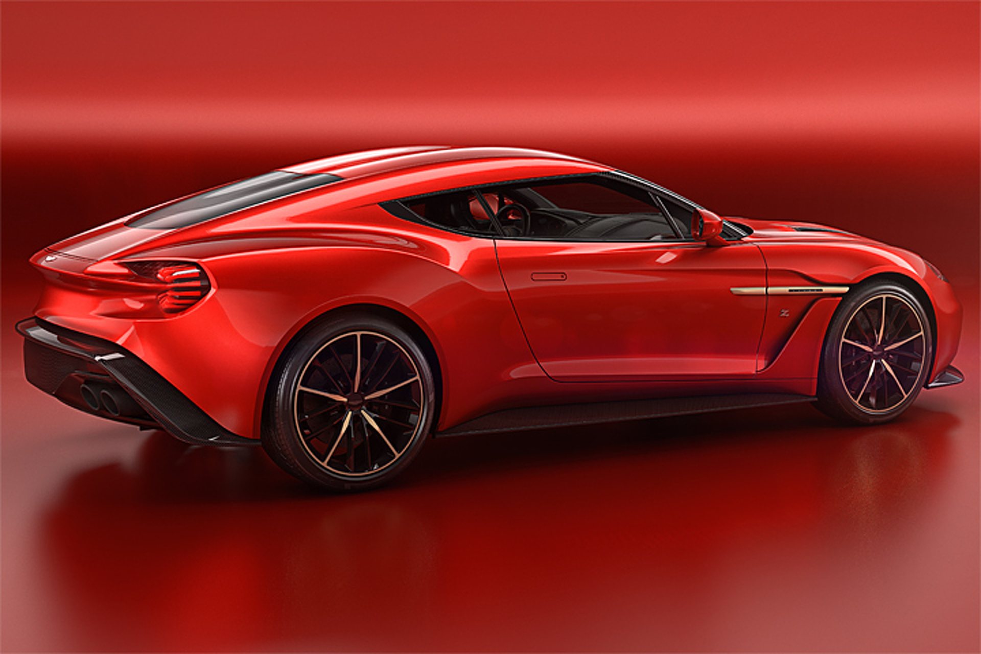 Zagato Gave the Aston Martin Vanquish an Italian Makeover