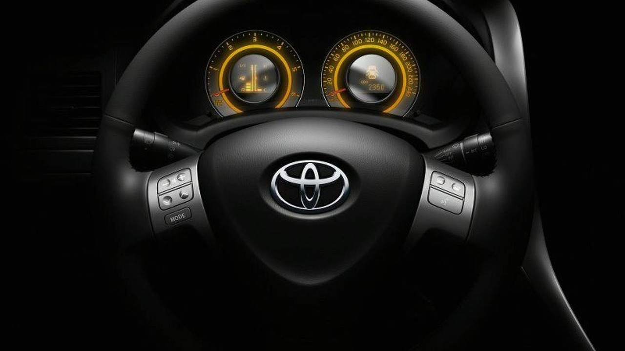 New Toyota Auris Interior