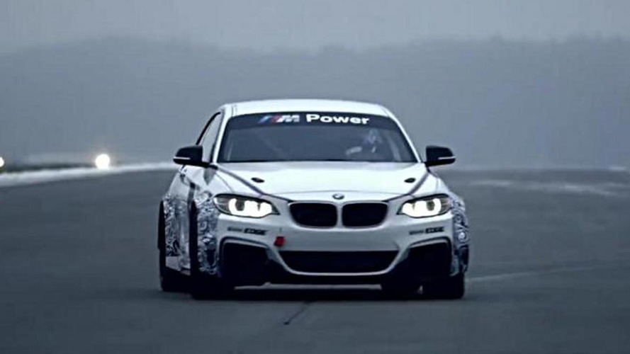 BMW M235i Racing shown in action for the first time [video]