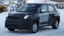 Jeep Jeepster / Fiat 500X mule spy photo