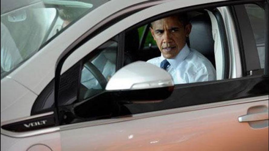 Auto elettriche, attacco ad Obama
