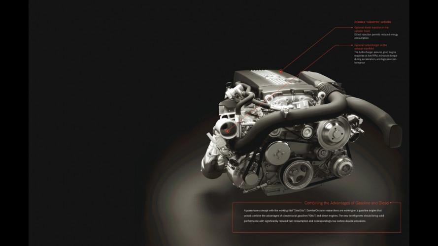 Mercedes presenta il motore DiesOtto