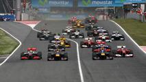 Start of the race, Spanish Grand Prix, 09.05.2010 Barcelona, Spain