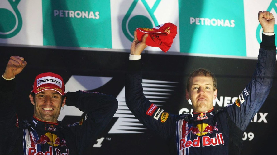 Vettel has no problem with blunt teammate Webber