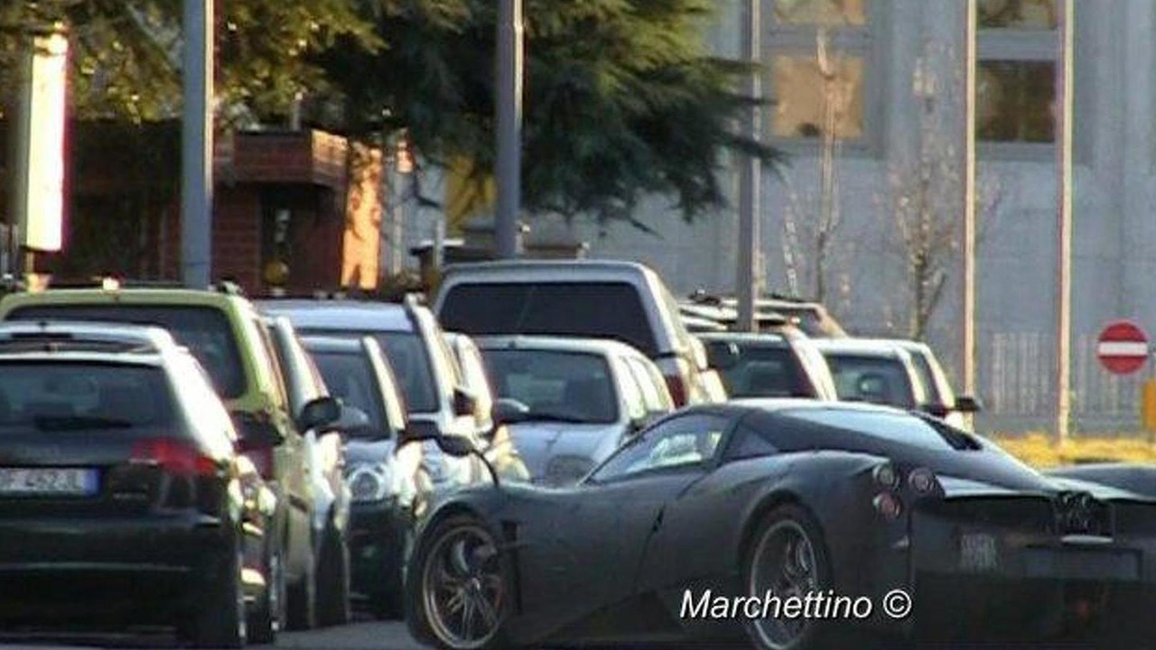 Pagani C9 Deus Venti prototype video screenshot, 750, 06.01.2011