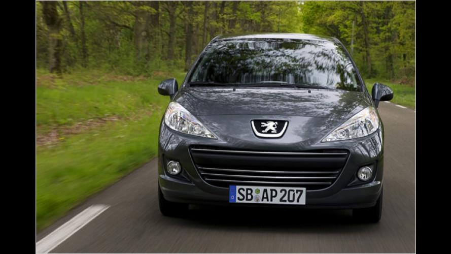Peugeot 207: Der Urban Move geht in die zweite Runde