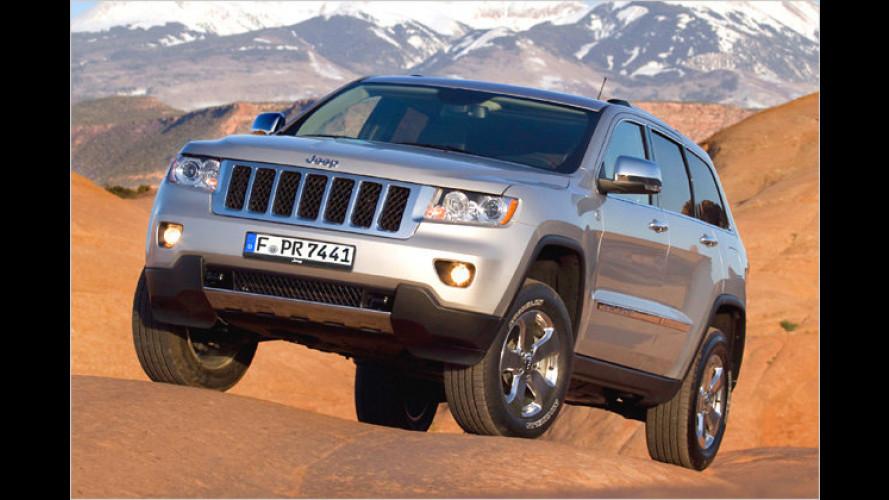 Jeep-Neuheiten in Genf