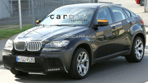 BMW X6 50iS Spied