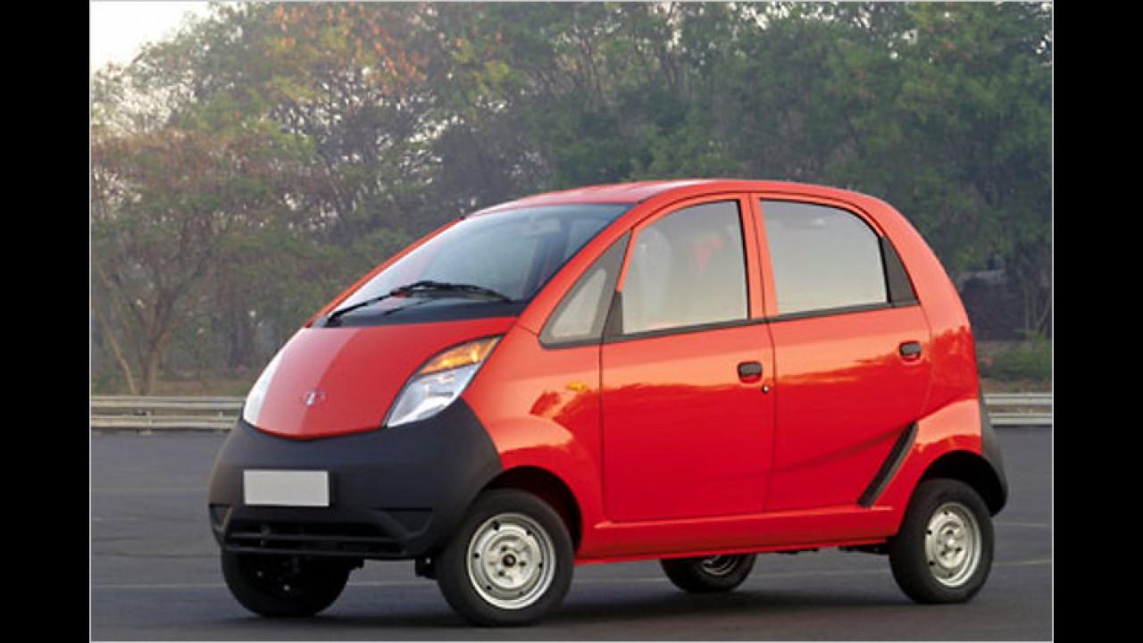 Das billigste Auto weltweit: Tata Nano