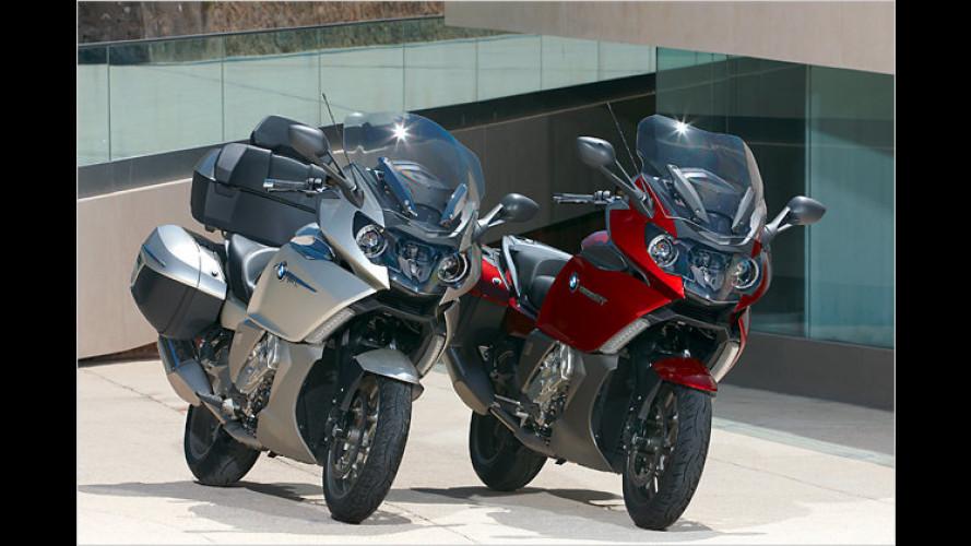 Premiere für Reihen-Sechszylinder bei BMW-Motorrädern