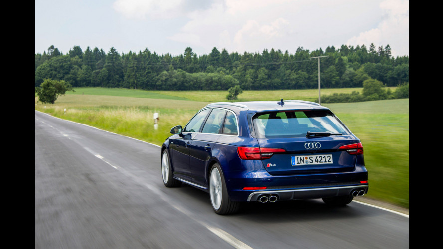 Nuova Audi S4: sportività da viaggio, comfort inaspettato