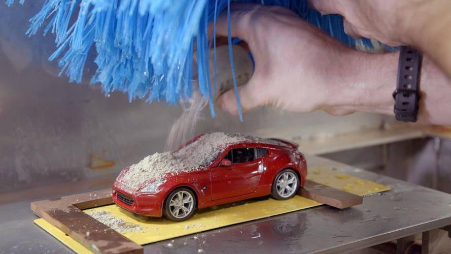 Nissan présente sa mini station de lavage