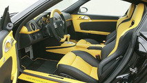 The interior can rationally be compared to staring at the sun