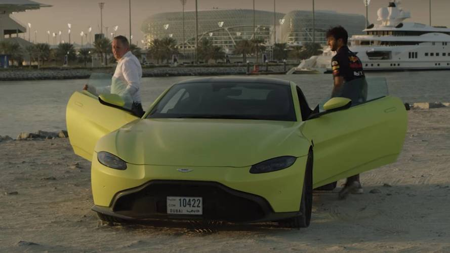Daniel Ricciardo Drives 2018 Aston Martin Vantage; Buys Valkyrie