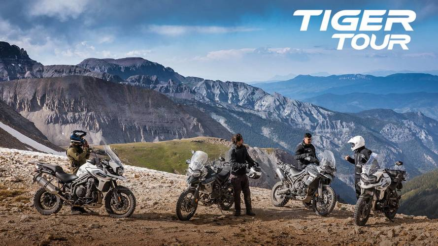 Triumph España arranca el Tiger Tour, para mostrar sus nuevas Tiger