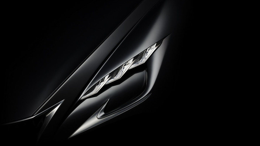 Lexus teases their new luxury design concept prior to Tokyo reveal