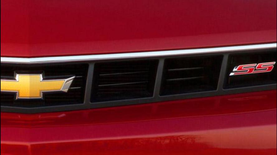 Chevrolet Camaro SS: il teaser