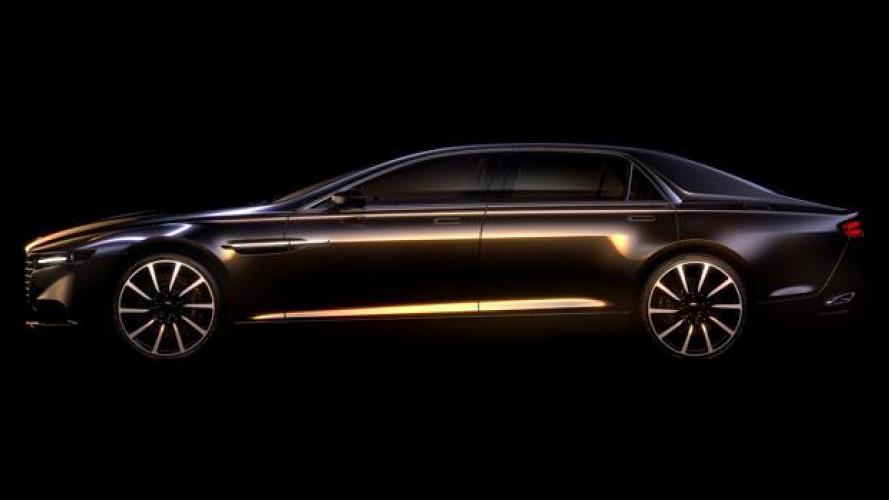 Aston Martin Lagonda, la nuova super berlina