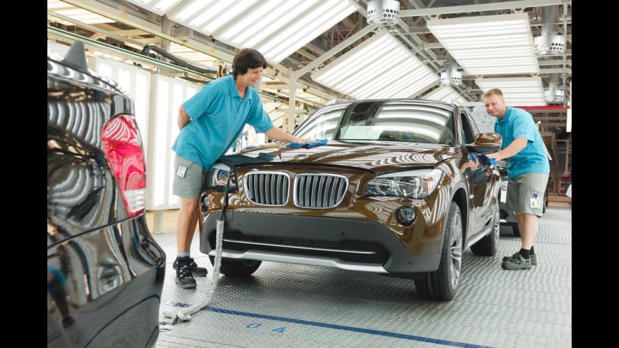 BMW X1: iniziata la produzione