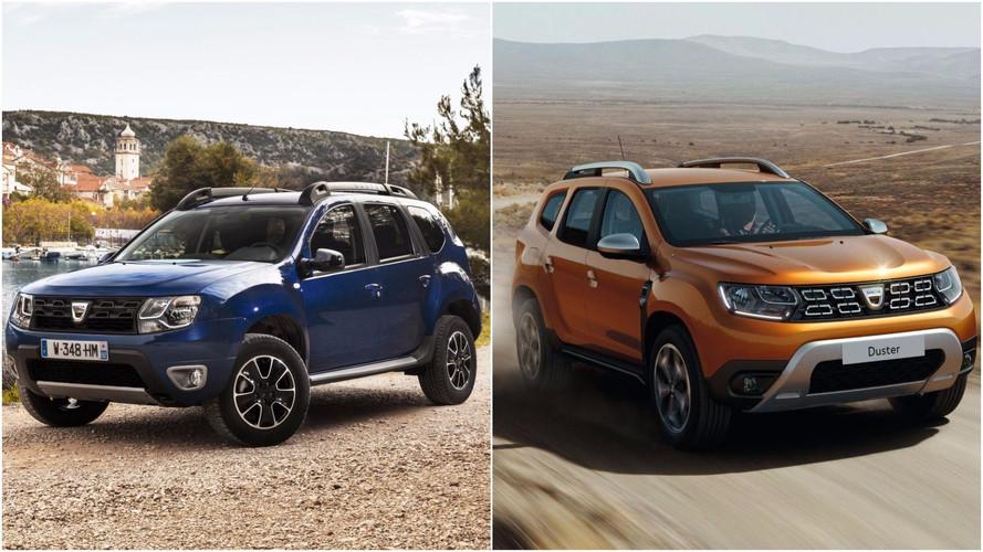 Régi vs. új: csúszkázz a Dacia Dusteren