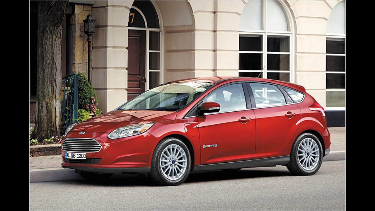 Ford Focus electric: 225 km