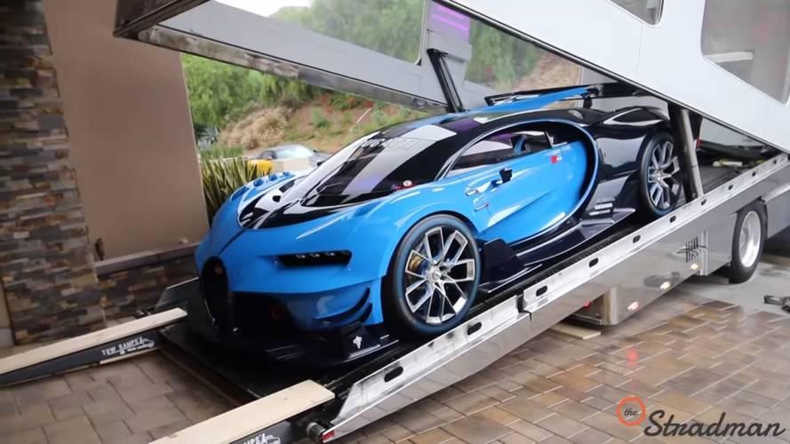 El espectacular Bugatti Vision Gran Turismo llega a Estados Unidos