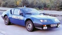 Alpine A110 Police Car