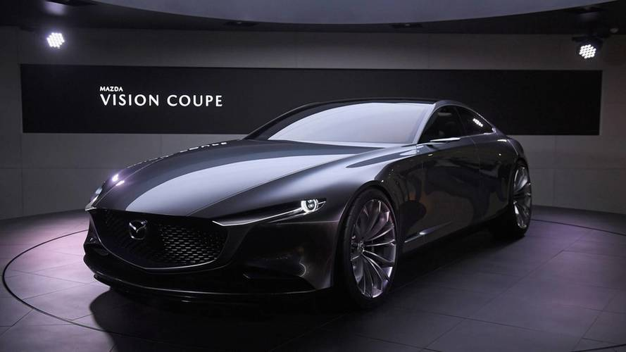 Mazda Vision Coupe Concept Is Stunning Four-Door Elegance