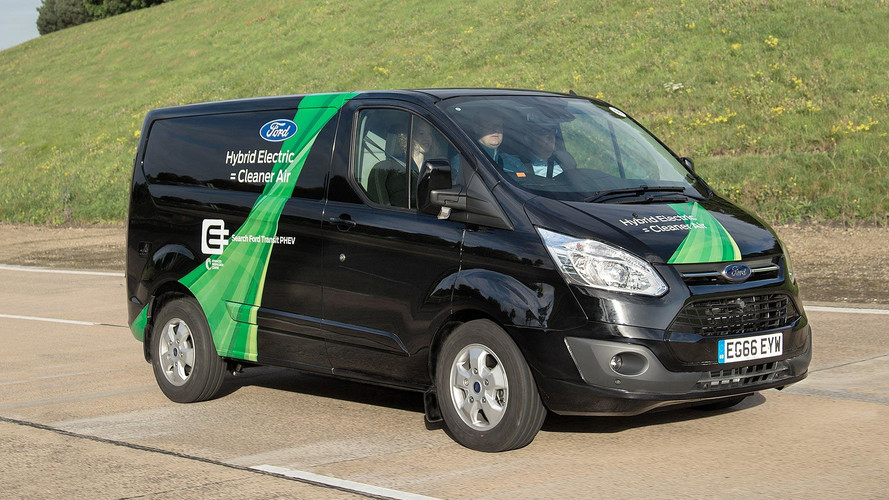 Ford Transit Plug-In Hybrid Brings Greener Deliveries To London