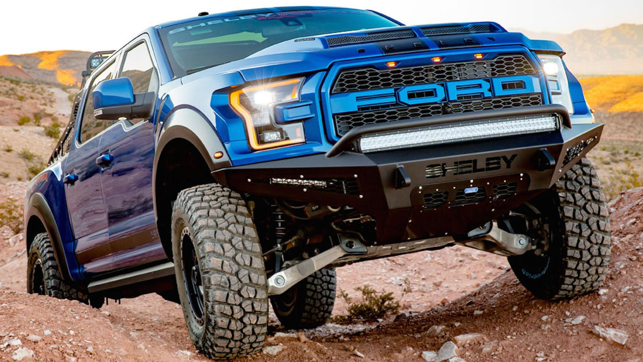 shelby s rugged ford raptor baja packs 525 hp. Black Bedroom Furniture Sets. Home Design Ideas