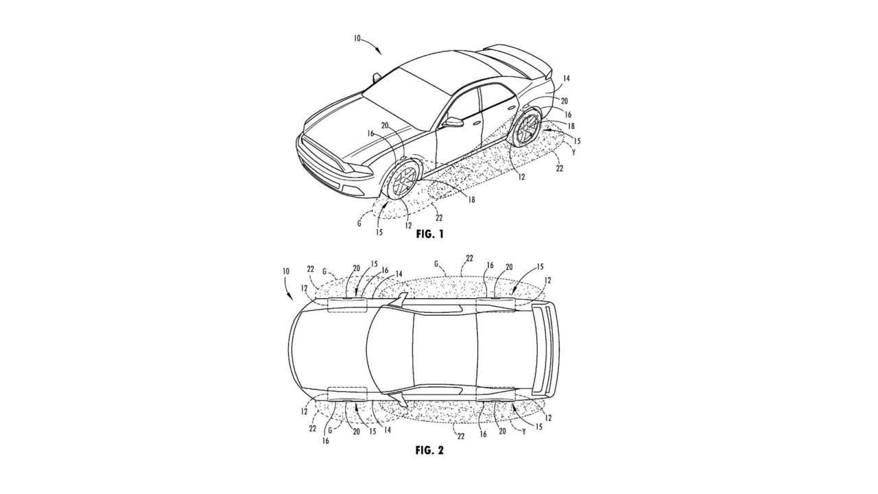 Ford aydınlatmalı tekerlek patenti
