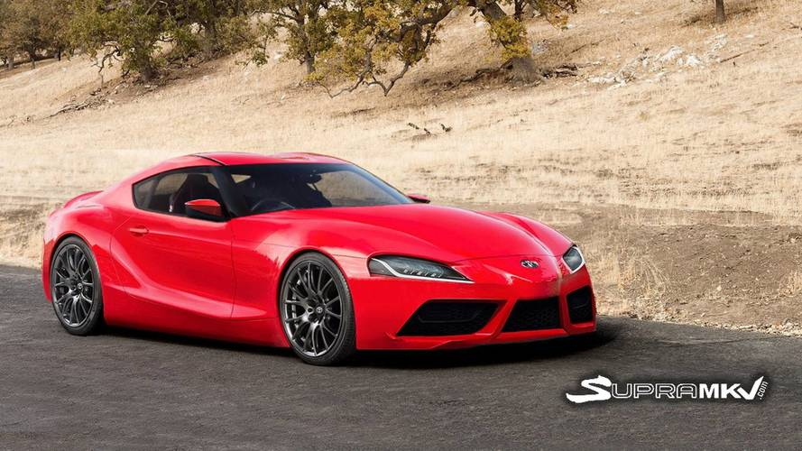 This Toyota Supra Rendering Looks Ready For Production