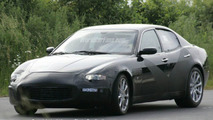 Maserati Quattroporte Coupe Spy Photo