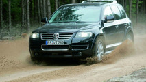 Touareg with ABSplus on gravel