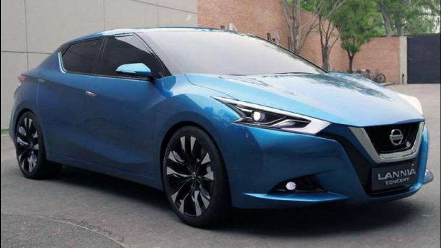 Nissan Lannia Concept, omaggio alla Bluebird