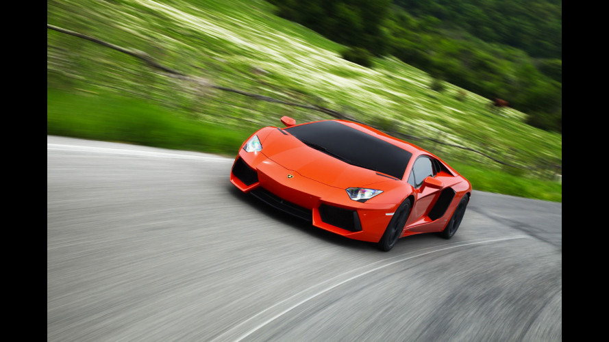 A Milano una Lamborghini 2 ruote