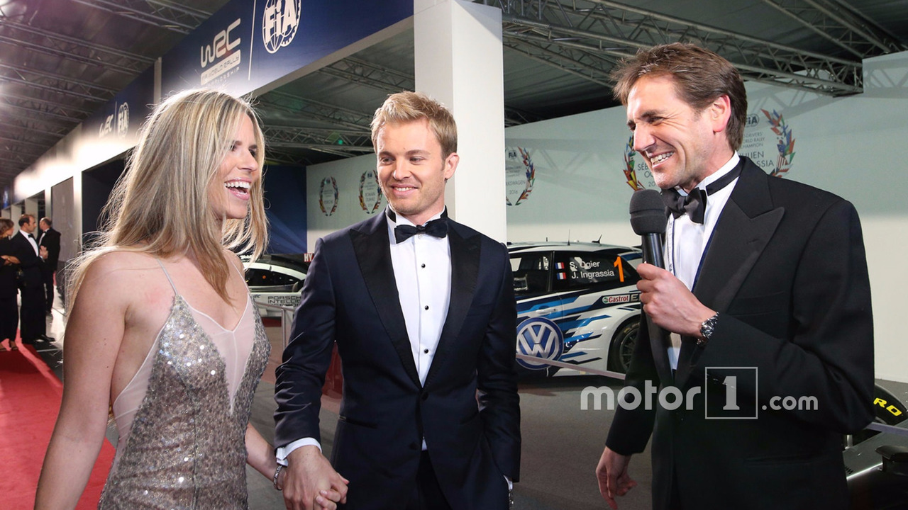 Formula 1 World Champion Nico Rosberg and wife Vivian