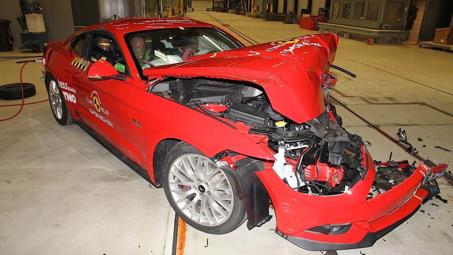 Ford Mustang Improves To Three Stars In Euro NCAP Crash Tests