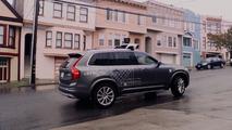 Volvo XC90, la flotta di Uber a guida autonoma