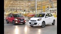Nissan March e Versa produzidos no Brasil devem chegar a pelo menos seis países