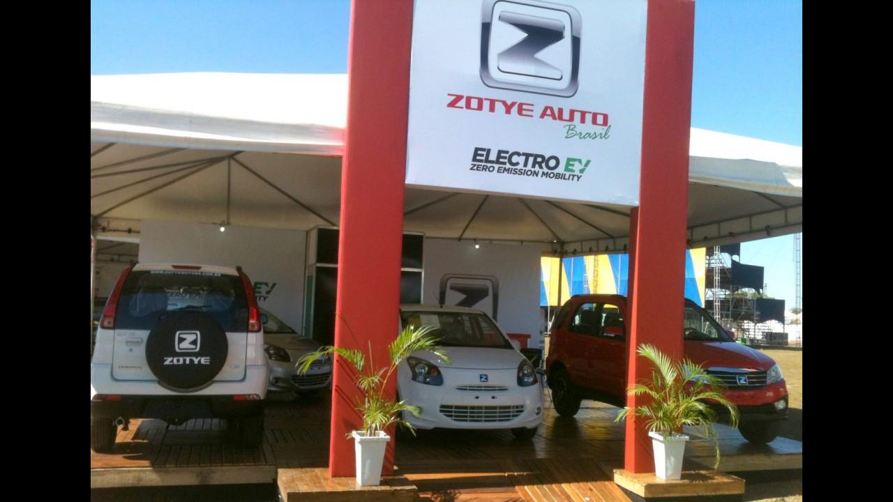 Zotye apresenta futuros nacionais e confirma urbaninho 100% elétrico para 2017