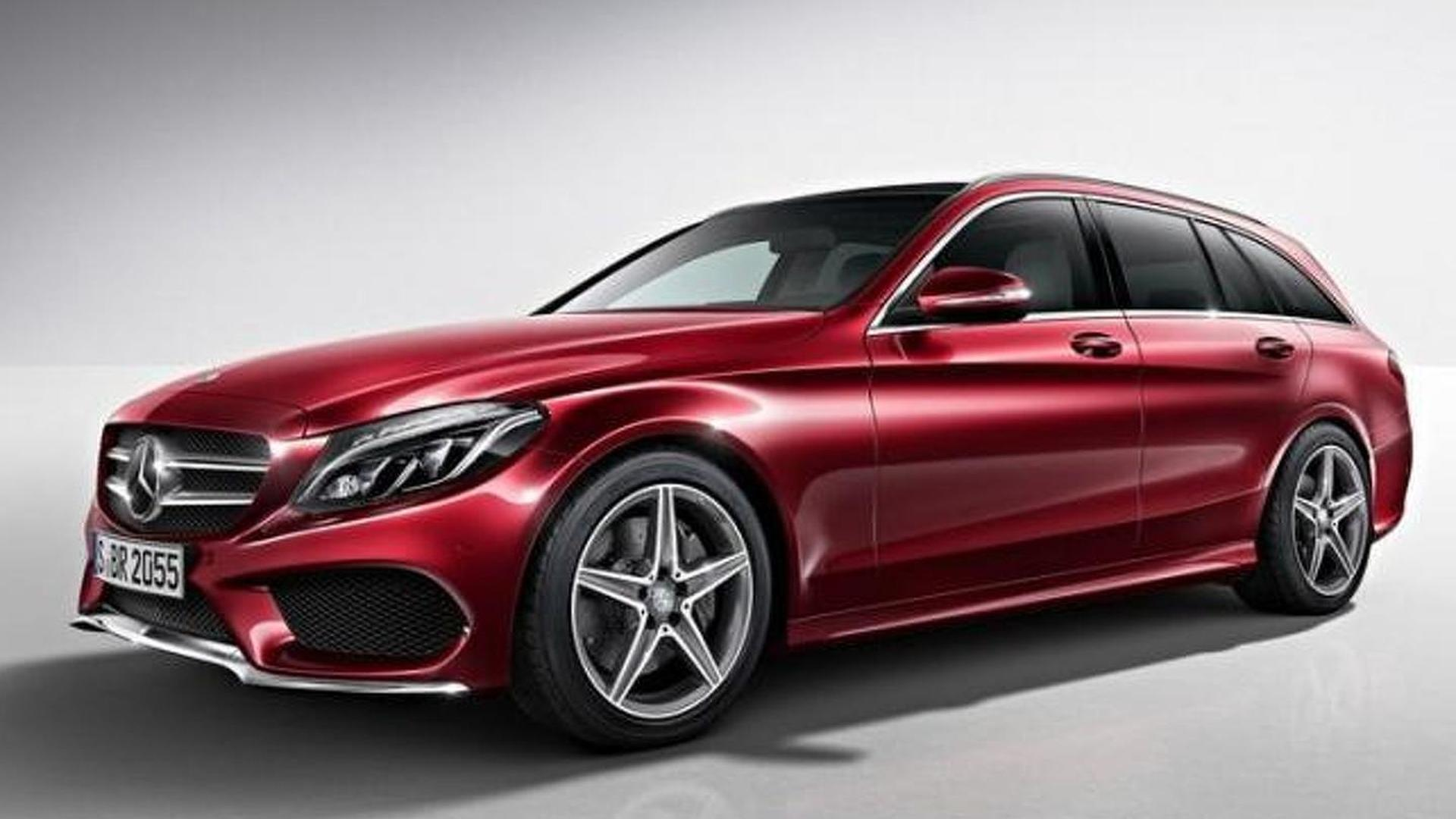 Mercedes benz c class estate amg line goes official for Mercedes benz official site usa