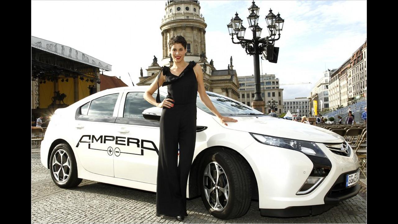 Jasmin Gerat: Opel Ampera
