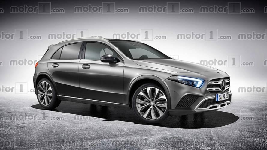 2019 Mercedes GLA Rendered Based On Recent Spy Shots
